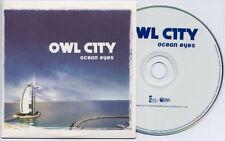 OWL CITY Ocean Eyes 2009 UK 12-trk promo CD card sleeve OWLPRO3