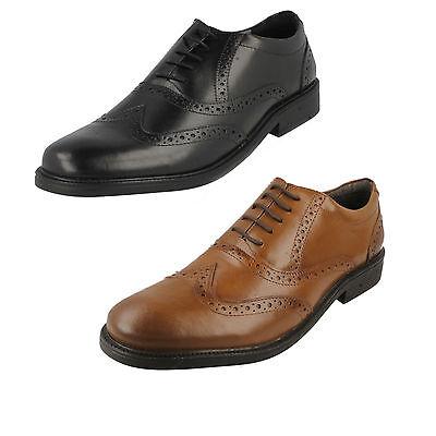 oferta Hombre Hush Puppies Leather Zapato Oxford Con Cordones Rockford