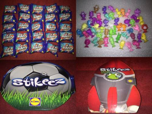 Stikeez Lidl Various Collectable Toy Figures