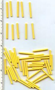 Lego 5 New Yellow Bar 4L Lightsaber Blade Wands Pieces