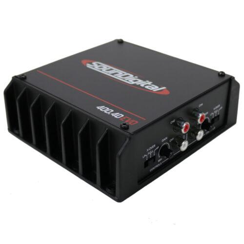 SounDigital 400.4D EVO Series 400W 4-Channel 4-Ohm Car Audio Amplifier NEW
