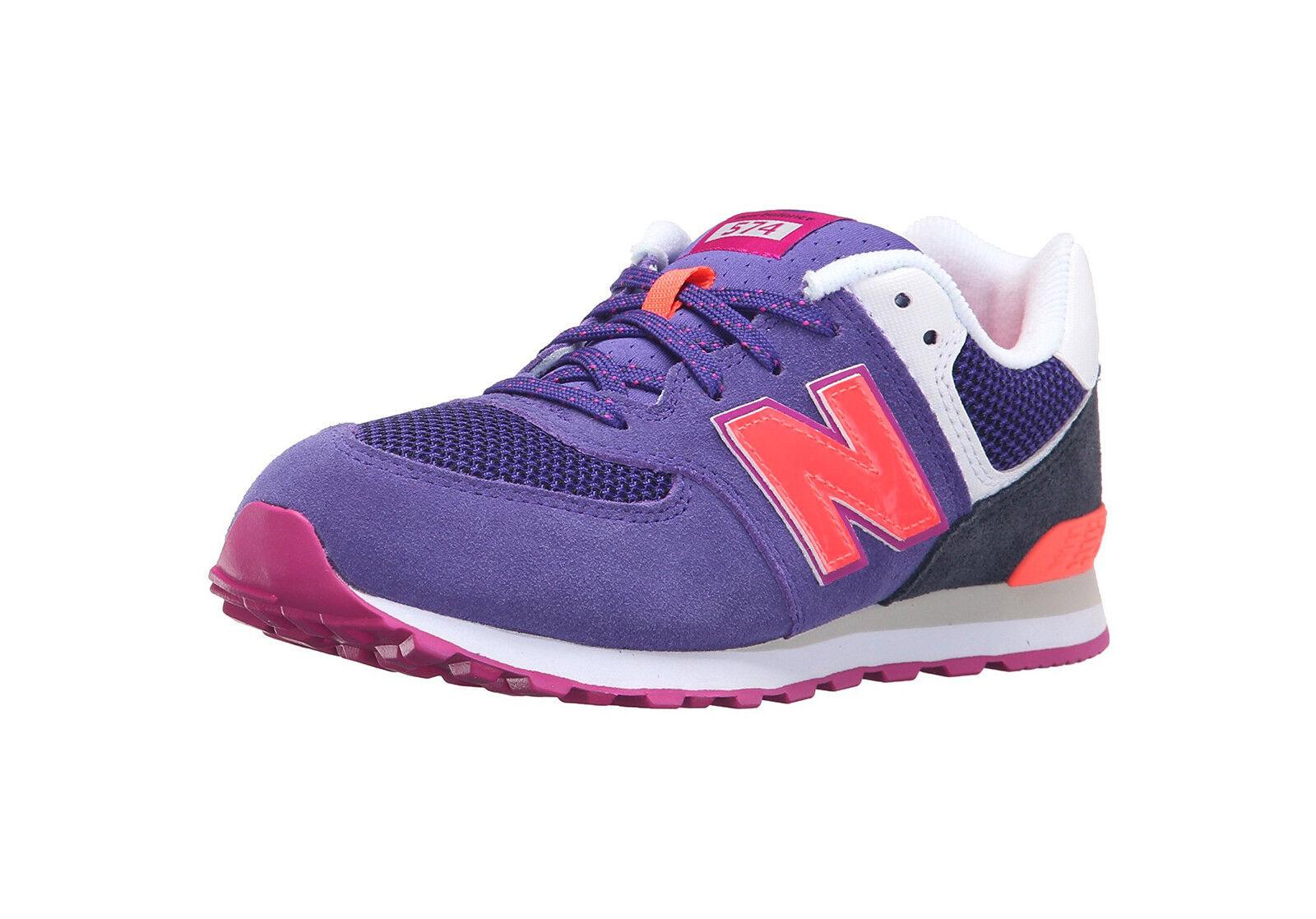 NEU Balance Schuhes Junior Youth Girls Damenschuhe KL574 Lavender Running Sneakers