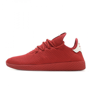 43389b1c74928 Men s Adidas Pharrell Williams PW Tennis Hu BY8720 Scarlet Red ...