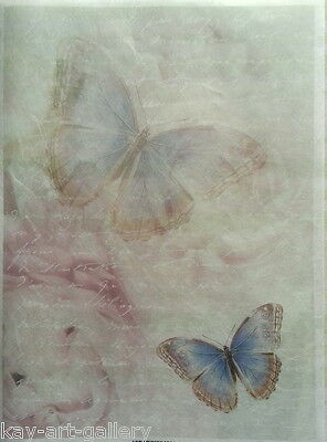 RICE DECOUPAGE PAPER / BUTTERFLIES / CRAFT PAPER / DECOUPAGE SHEETS SCRAPBOOKING