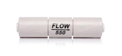 """Inline débit vanne 550-1//4 /""""pushfit pour système d/'osmose inverse membrane"""