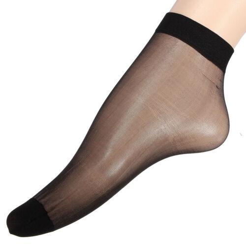 10Pairs Fashion Ladies Ballerina Ankle Sheer High Trouser Pop Viscose Socks 2799