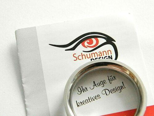 Schumann design Edelstahlring in verschiedenen Größen statt 34,49 € jetzt nur