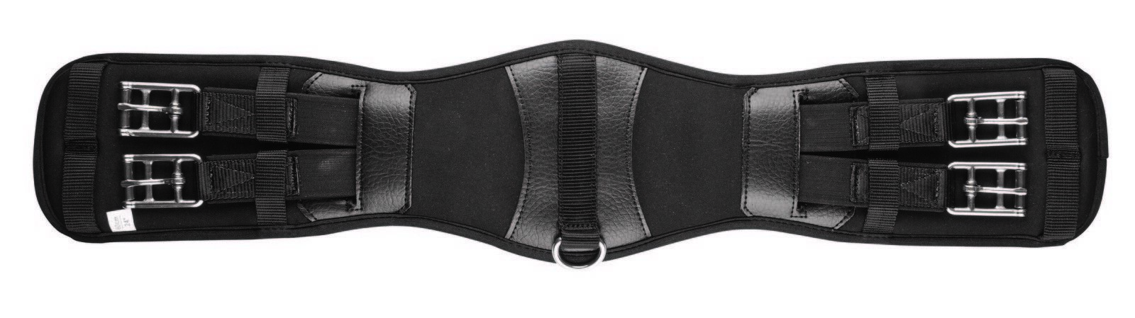 Collegiate Memory Foam Anti-Chafe Dressage Girth with Both Elastic Ends