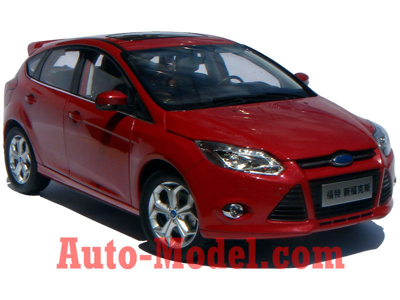 1 18 Changan Ford 2012 Focus S Candy Red Dealer Edition