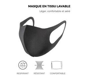 Masque-tissu-lavable-reutilisable-coton-noir-respirant-adulte-unisexe