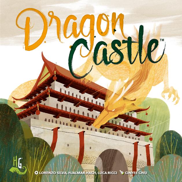Dragon Castle - Board Game - CMON - Factory Sealed
