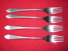 Four WMF Cromargan Stuart (pointed tip) Dinner Forks