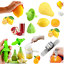 Silicone-Citrus-Orange-Juicer-Lemon-Lime-Fruit-Hand-Squeezer-Kitchen-Tool-J miniature 1