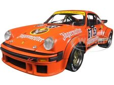 PORSCHE 934 RSR JAGERMEISTER #53 ORANGE 1/18 DIECAST MODEL BY SCHUCO 450033500
