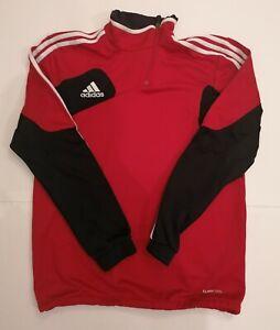 Dettagli su Adidas Felpa tuta Jacket vintage anni 90 Taglia M climatide acetato