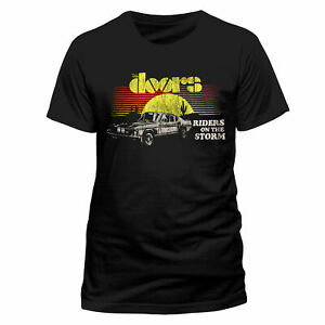 The-Doors-Riders-On-The-Storm-T-Shirt-Official-Sunset-Car-Jim-Morrison-NEW-SMLXL