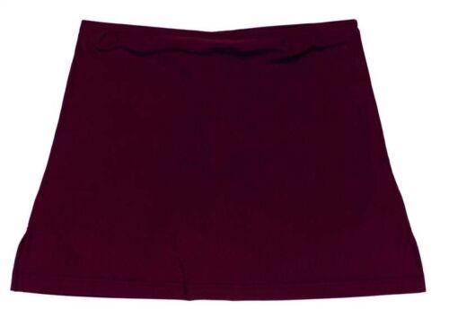"P E Sportswear Falcon Girls Skort Burgundy 34/"""