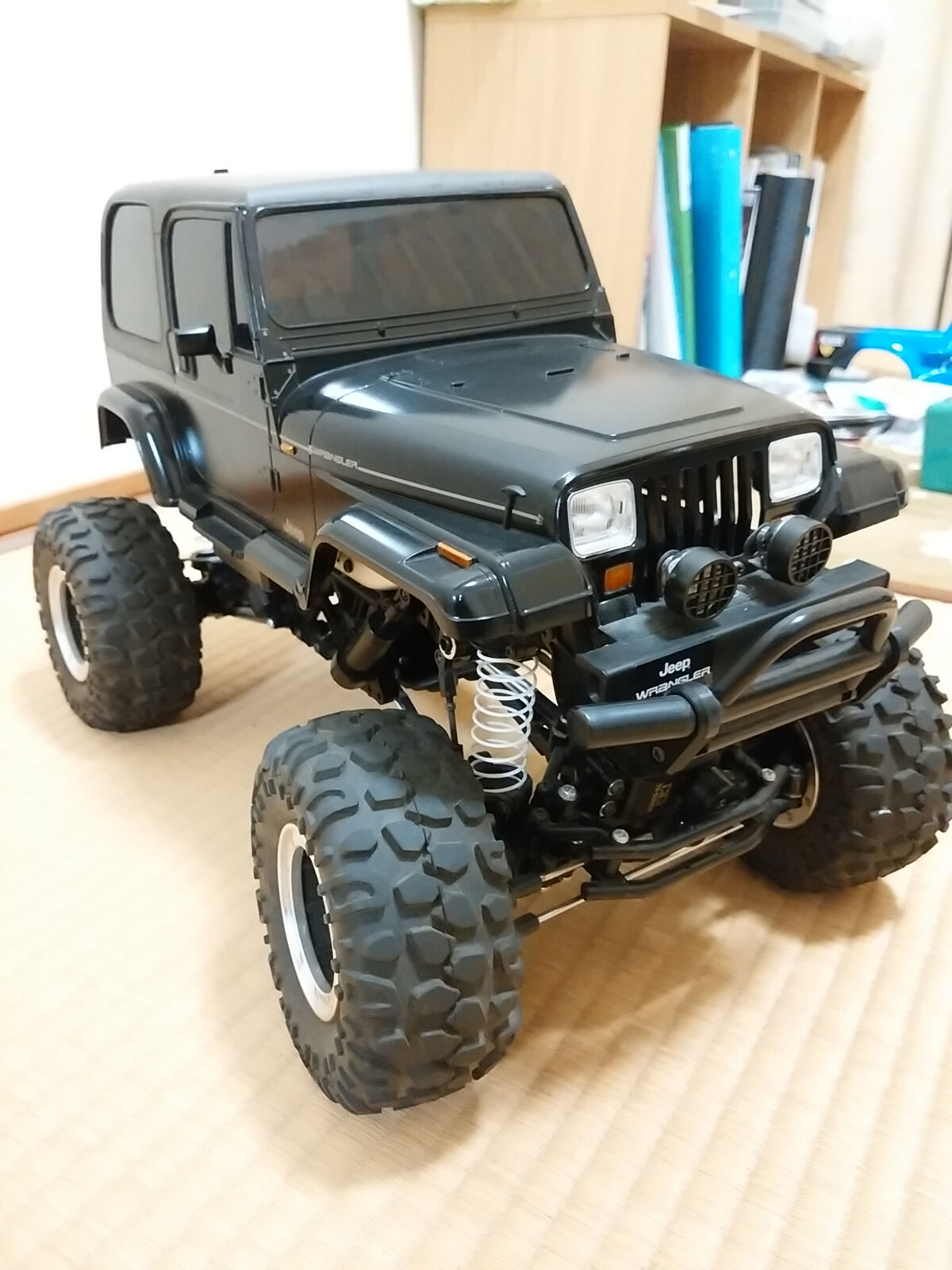 Tamiya RC CR 01 Jeep Wrangler out of print item Vintage rare From JAPAN F S