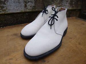 7 Uk Boots Worn Suede Chukka Sahara Ivory Once Church Gentleman nqxPC1Y
