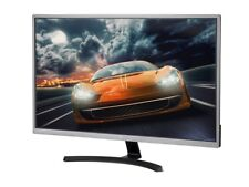 32in 4K HDR IPS AMD FreeSync Ultra Slim Desktop Monitor Gun Metal Slim Bezel