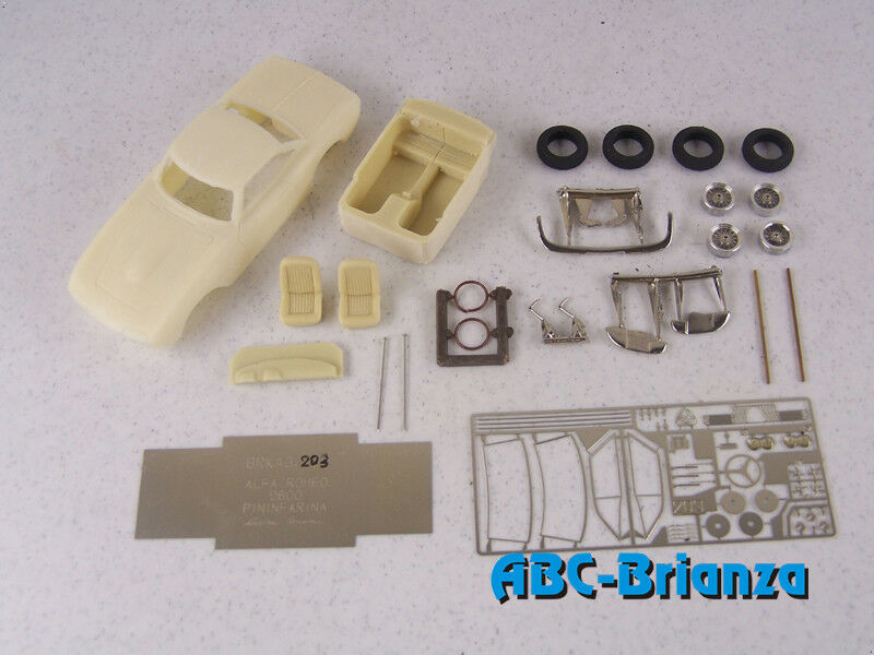 ABC BRIANZA KIT BRK43203 ALFA ROMEO 2600 PF COUPE' 1963