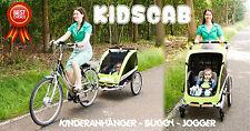 KidsCab Cares for 2 Fahrradanhänger Kinderanhänger jogger Buggy anhänger