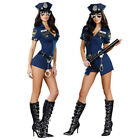 Sexy Women Lady Police Costume Cosplay Suits Fancy Halloween Cloths