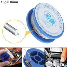 Tin Le Solder Core 2 Flux Soldering Welding Wire Spool Reel 08mm 10g 6337