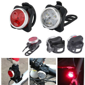 USB-Charging-Mountain-Bike-Bicycle-Outdoor-Cycling-LED-Headlight-Taillight-Set