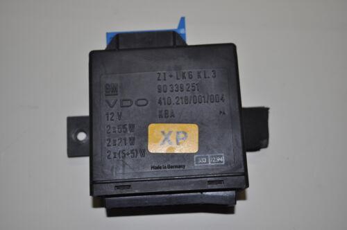 Steuergerät Glühlampen bzw Checkcontrol 90339251XP OPEL