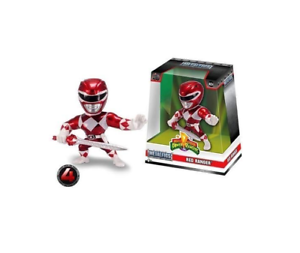 "JADA 4/"" metalfigs-Power Rangers-Red Ranger"
