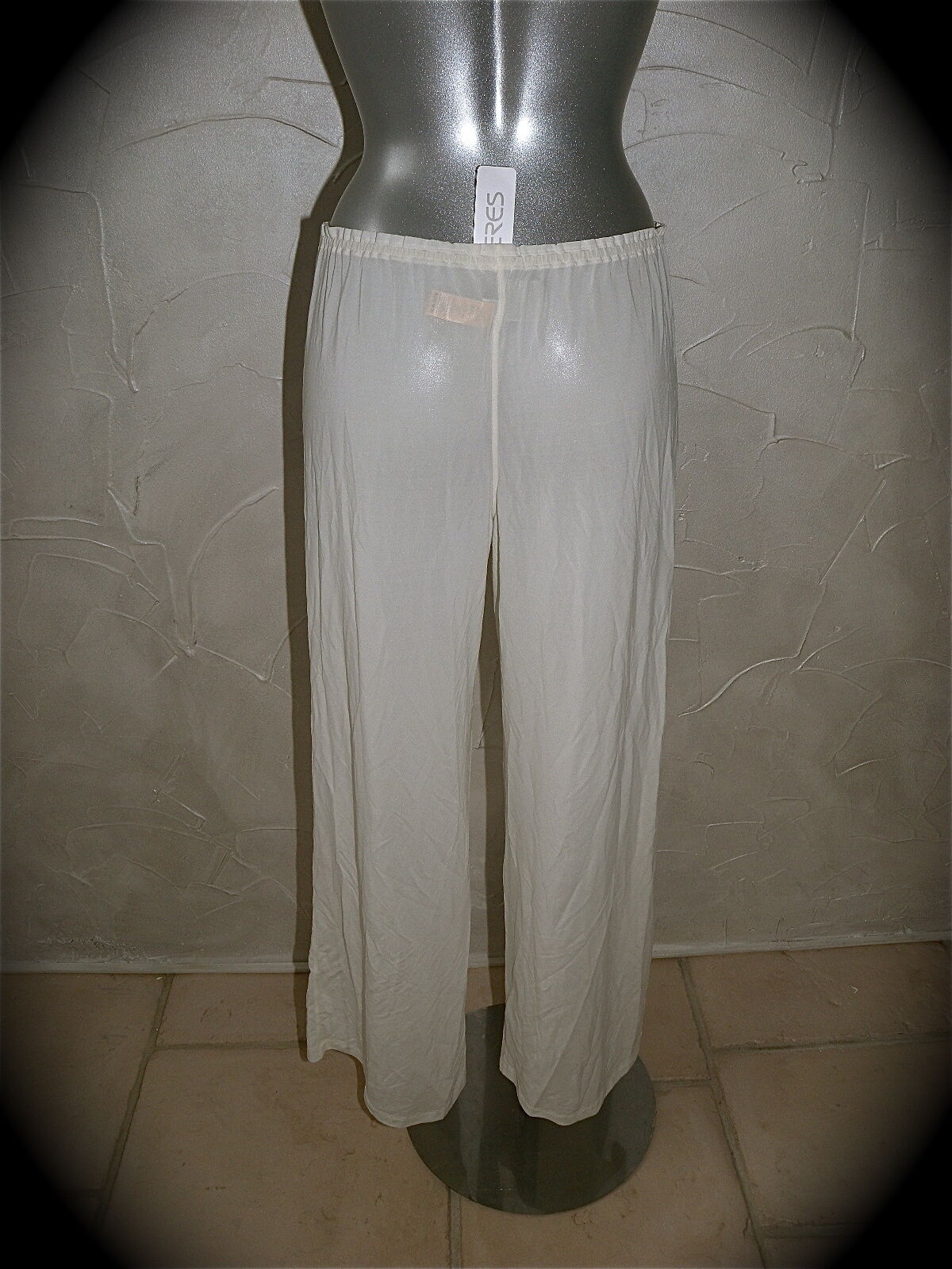 Trousers beach ERES nissa T 40 NEW LABEL GREAT LUXE val