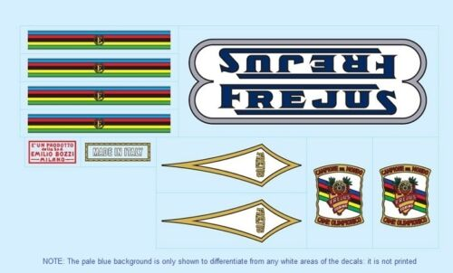 Frejus Bicycle Decals-Transfers-Stickers #5