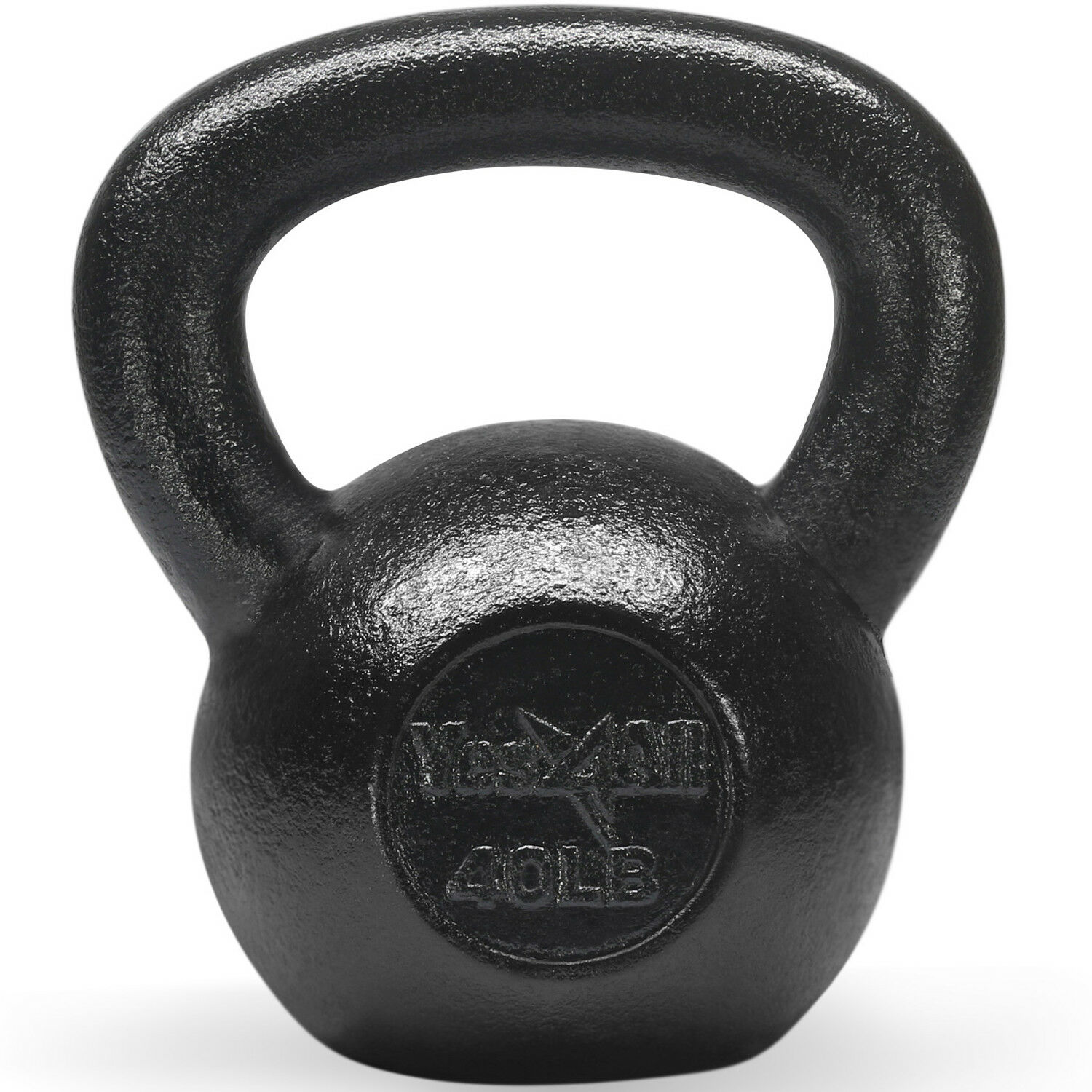 Yes4All 40 lb Kettlebell Weights for Body Workout -  Cast Iron Kettlebells²2  perfect