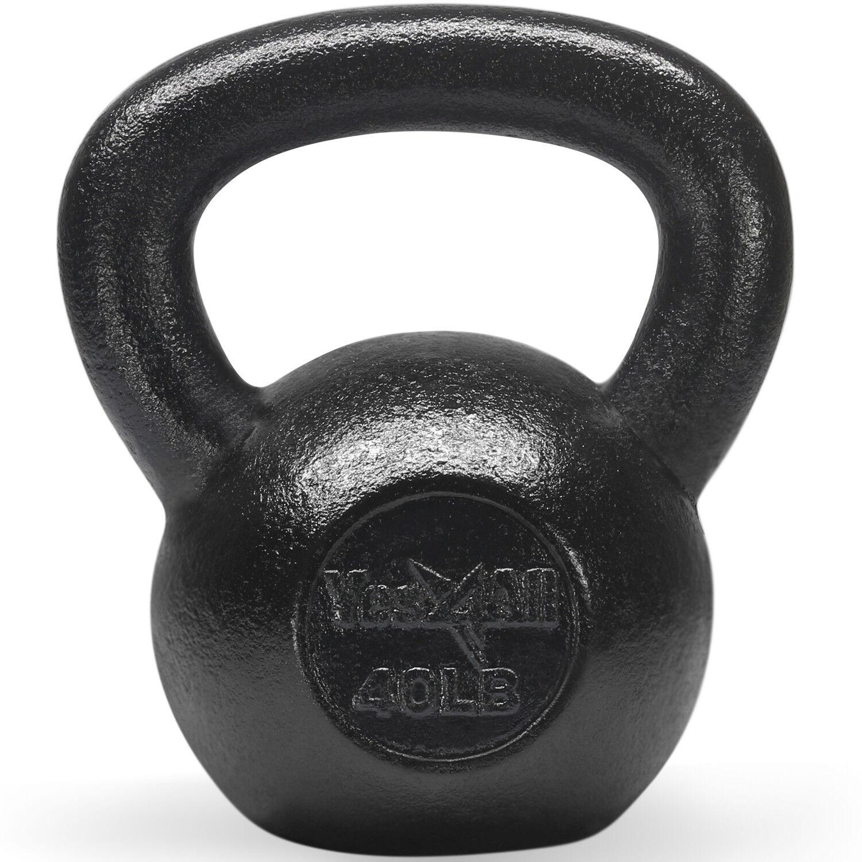 Yes4All 40 lb Kettlebell Weights for Body  Workout - Cast Iron Kettlebells²8D  cheap designer brands