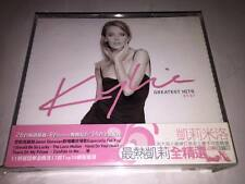 Kylie Minogue 2003 Greatest Hits 87-97 Taiwan OBI 34 Track 2 CD with 2 Booklets