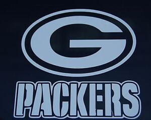 Green Bay Packers Football Logo Vinyl Decal Sticker 77123
