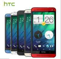 "5 Colors! Unlocked 4.7"" HTC ONE M7 32GB 4MP Quad-core 3G Android OS Mobile Phone"