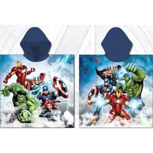 Boys Girls Official Marvel Avengers Bath Beach Holiday Swim Cotton Towel