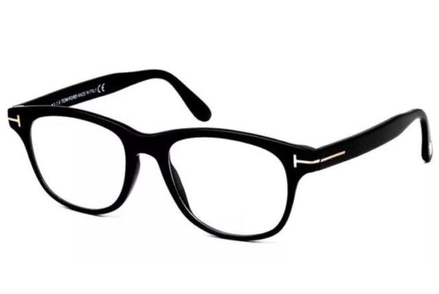 Tom Ford Ft5399/v 001 Shiny Black Women Men Eyeglasses 50mm ...