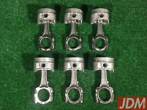NISSAN-RB25DET-NEO-PISTONS-amp-RODS-Skyline-Stagea-12100-75T02-A2010-AA100