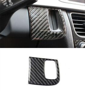 Car Interior Key Hole Frame Cover Trim Fit for AUDI A4//B8//A5//8T//S5 2008-2015 Carbon Fiber Keyhole Cover Trim Car Accessories