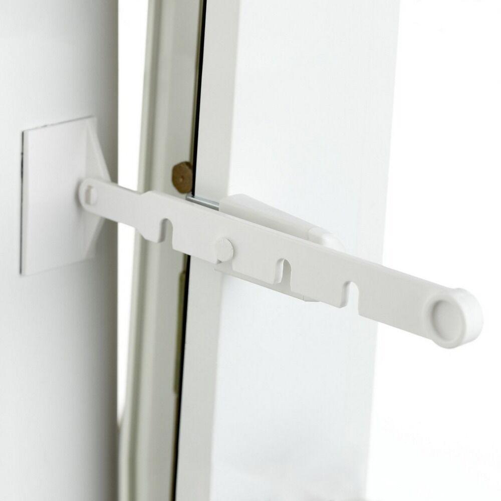 Kippregler Kippregler Kippregler Kipp-Regler Fensterfeststeller Fenster Stopper in weiß - ohne bohren | Sehr gute Farbe  2de7d8