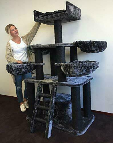 Cat Tree For Large Cats Panther, Cat Furniture For Large Cats