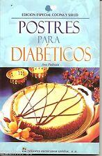 Postres Para Diabeticos (2009, EDITMUSA) Paperback