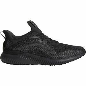 a6678884e30f6 Adidas Alphabounce EM Mens DB1090 Black Carbon Mesh Running Shoes ...
