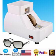 Optical Hand Edger Manual Lens Grinder Single Wheel Grinder Polisher 110v 120w