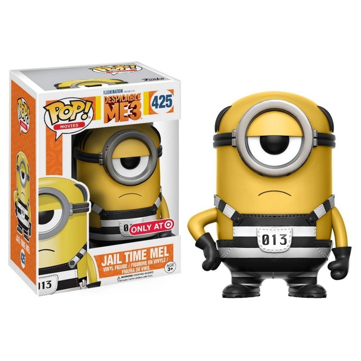 FUNKO POP MOVIES DESPICABLE ME 3  425 JAIL TIME MELTARGET EXCLUSIVEFAST POST