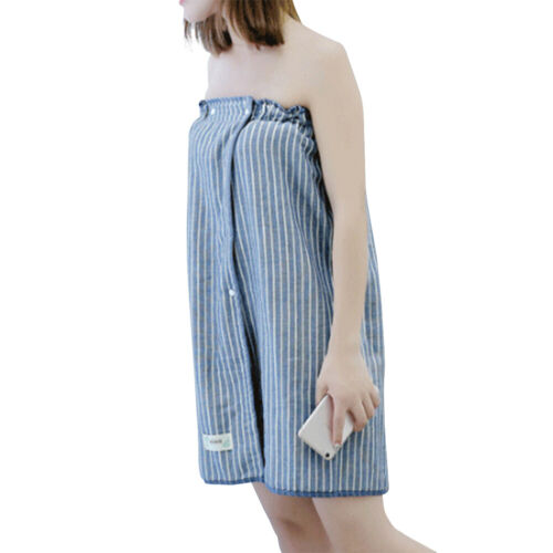 Womens Absorbent Shower Body SPA Bath Wrap Towel Bath Soft Robe New