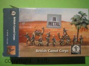 1-72-Waterloo1815-105-Kolonialkrieg-Briten-Kampf-Kamele-British-Camel-Corps